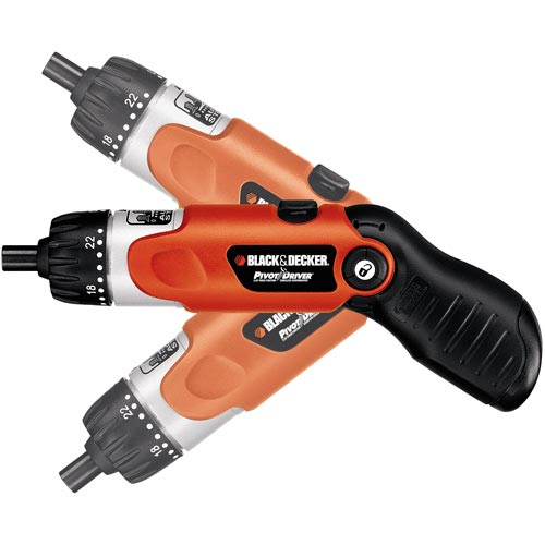 Black and Decker 9078 3.6V 3 Position Rechargeable Screwdriver