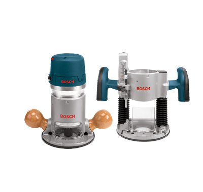 Bosch 2.25 HP Combination Plunge & Fixed-Base Router Pack 1617EVSPK