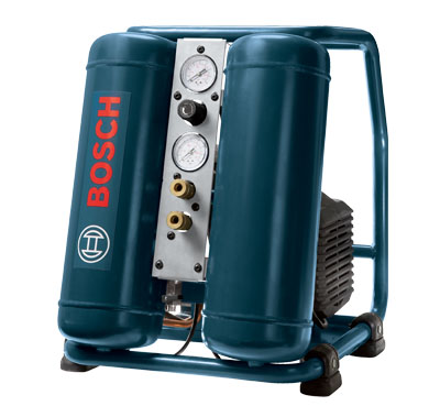 Bosch 4 Gallon Electric Hand Carry Compressor w/ Wheels CET4-20W