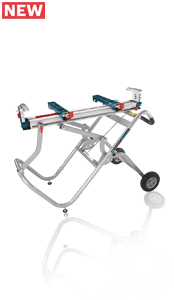 Bosch Gravity-Rise Wheeled Miter Saw Stand T4B