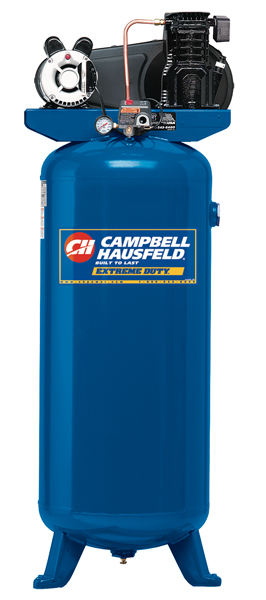 Campbell Hausfeld VT6195 Cast Iron Compressor, 3 Running HP, 60 Gal.