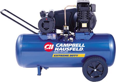 Campbell Hausfeld VT6271 Cast Iron Compressor, 3 Running HP, 26 Gallon