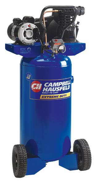 Campbell Hausfeld VT6319 28 Gallon Vertical Oil-Lubricated Air Compressor