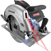 10870 Craftsman 7-1/4 in. Circular Saw with Laser Trac and LED Worklight