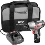 17428 Craftsman 12 Volt NEXTEC Compact 1/4 in. Impact Driver