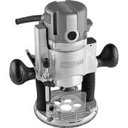 17540 Craftsman 9.5 Amp 1-3/4 HP Plunge Base Router with Soft Start and LED Worklights
