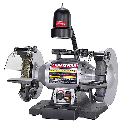 21162 Craftsman Professional 8 in. Bench Grinder, Variable Speed