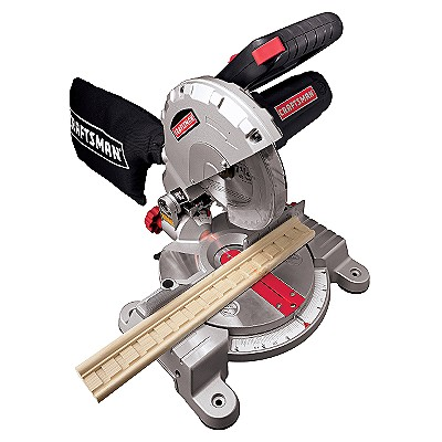 21180 Craftsman 7-1/4 in. Miter Saw with Laser Trac™
