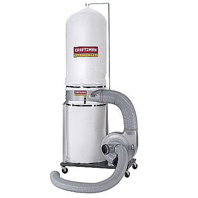21337 Craftsman Professional 1-1/2 hp Dust Collector