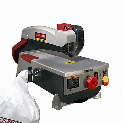 21612 Craftsman Professional 16 in. Variable Speed Tilt Arm Scroll Saw with Dust Collector