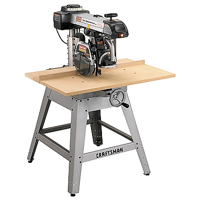 22010 Craftsman Professional Laser Trac™ 10 in. Radial Arm Saw