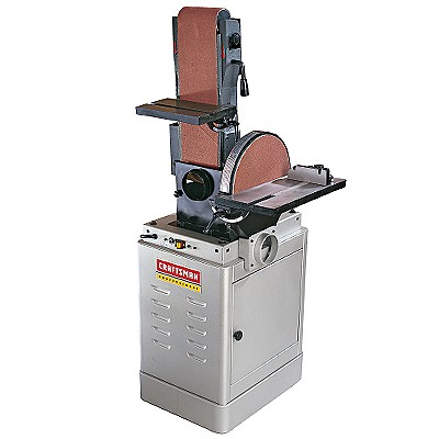 craftsman belt and disc sander. 22606 craftsman professional belt/disc sander, stationary, 6 x 48 in. belt and disc sander