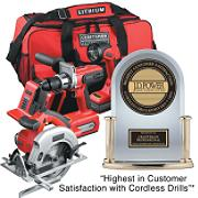 26325 Craftsman Professional 20 volt Lithium-Ion 3-Tool Combo Kit with Contractor Utility Bag