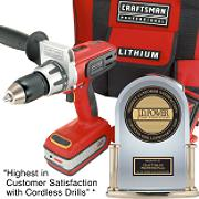 28169 Craftsman Professional 20 volt Lithium-Ion 1/2 in. Drill/Driver with Contractor Utility Bag