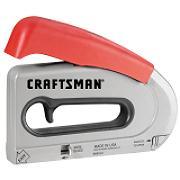 68514 Craftsman Stapler/Brad Nailer, All-Purpose, EasyFire™ Forward Action™