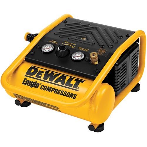 DeWalt D55140 1 Gallon, 135 PSI Max, Trim Compressor