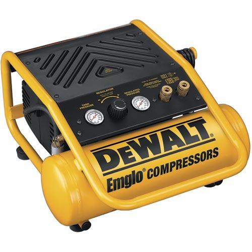 DeWalt D55141 2 Gallon, 150 PSI Max, Trim Compressor