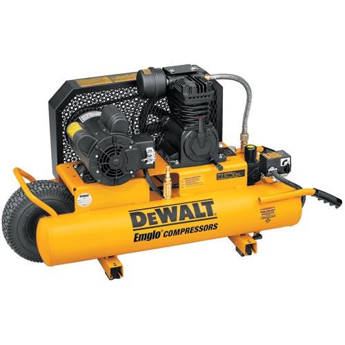 DeWalt D55580 2 HP 8 Gallon Compressor with Dual Voltage and Dual Control