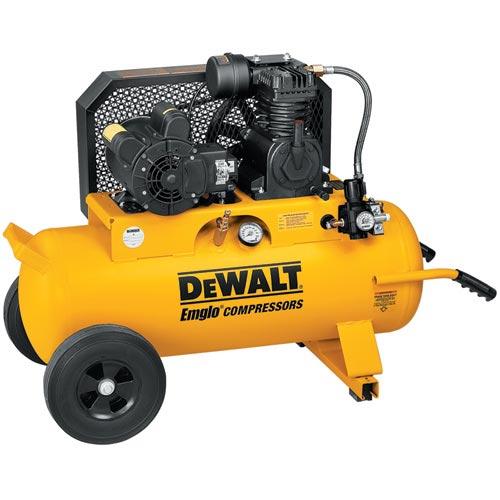 DeWalt D55585 2 HP 17 Gallon Compressor with Dual Voltage and Dual Control