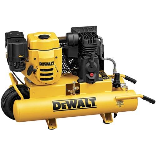 DeWalt D55672 196cc (6.5 HP), 150 PSI, 8 Gallon Compressor