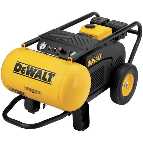 DeWalt D55684 196cc (6.5 HP), 150 PSI, 10.5 Gallon Compressor with Roll Cage