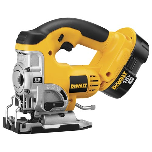 DeWalt DC330K 18V Cordless XRP™ Jig Saw Kit with Keyless Blade Change