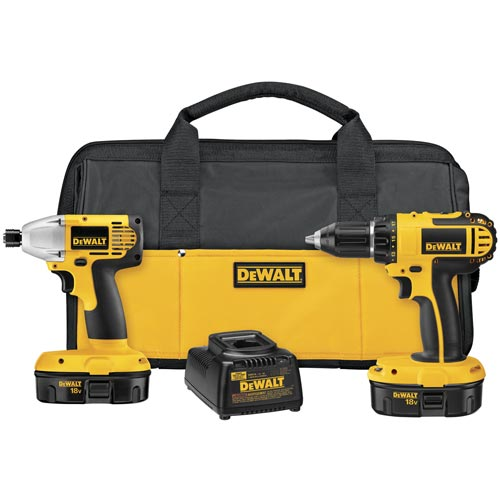 DeWalt DC720IA 18V Compact Drill / Impact Driver Combo Kit