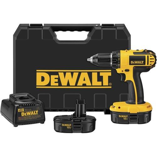 DeWalt DC720KA 18V 1/2'' (13mm) Cordless Compact Drill/Driver Kit