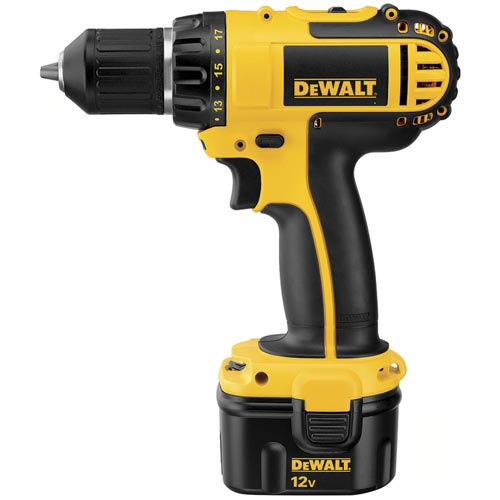 DeWalt DC742KA 12V 3/8'' (10mm) Cordless Compact Drill/Driver Kit