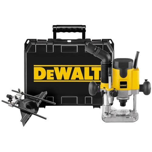 DeWalt DW621K 2 HP (maximum motor HP) EVS Plunge Router Kit