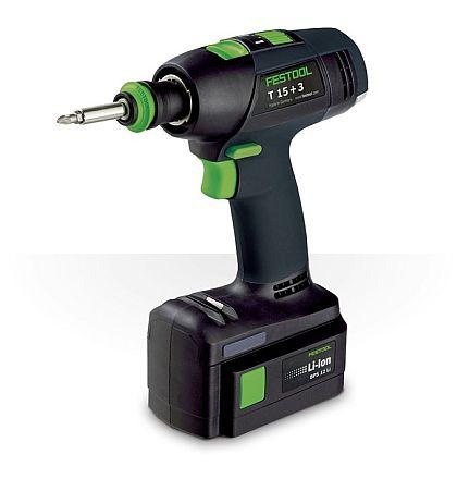 Festool T 15+3 Cordless Drill