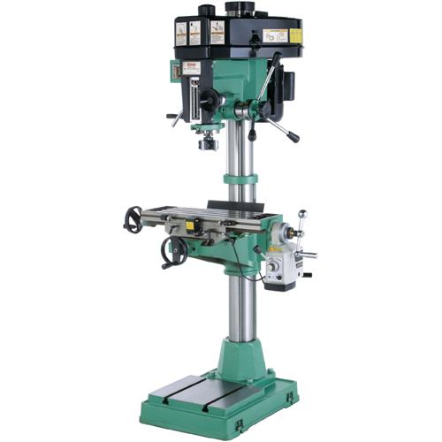 Grizzly G0520 Drill Press w/ Cross Sliding Table & Power Feed