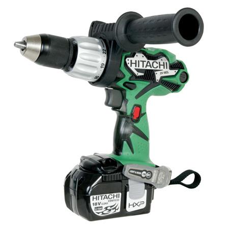 hitachi DV18DL 18V 3.0Ah Lithium Ion Cordless Hammer Drill