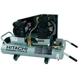 hitachi EC189 8-Gallon Electric Wheeled Air Compressor