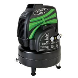 hitachi EC79 6-Gallon Oil Free Pancake Air Compressor