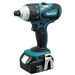 Makita BTP140 BTP140- 18V LXT Lithium-Ion Cordless Hybrid™ 4-Function Impact-Hammer-Driver-Drill Kit