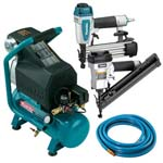 Makita MAC700K2 Nailer and Compressor Kit