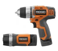 Ridgid R92008 12V Lithium-Ion Fuego Drill/Driver and LED Light