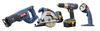 Ryobi P842 18 Volt One+™ Super Combo with Torque IV™ Drill