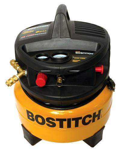 Stanley Bostitch CAP2000POF 6-Gallon 2.0 Peak HP Oil-Free Compressor