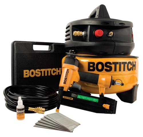 Stanley Bostitch CPACK1850BN 1-Tool & Compressor Combo Kit