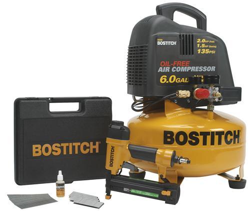 Stanley Bostitch CPACK1 2IN1 Brad Nailer/Stapler Combo Kit