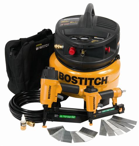 Stanley Bostitch CPACK2 2-Tool & Compressor Combo Kit