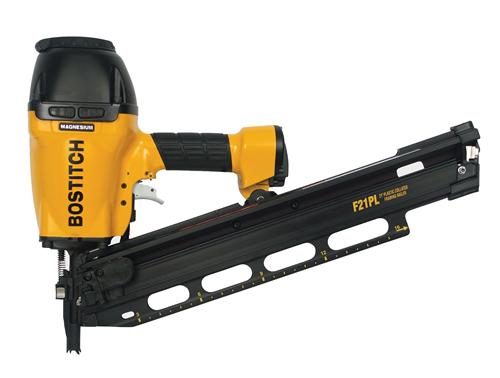 Stanley Bostitch F21PL2 211/2 Plastic Collated Framing Nailer