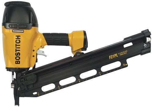Stanley Bostitch F21PL 211/2 Plastic Collated Framing Nailer