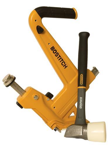 Stanley Bostitch MFN201 Manual Hardwood Flooring Cleat Nailer