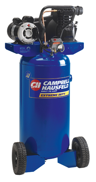Campbell Hausfeld Vt6319 28 Gallon Vertical Oil Lubricated